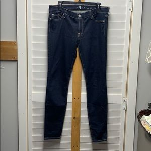 7 For All Mankind Skinny Jeans Sz 31